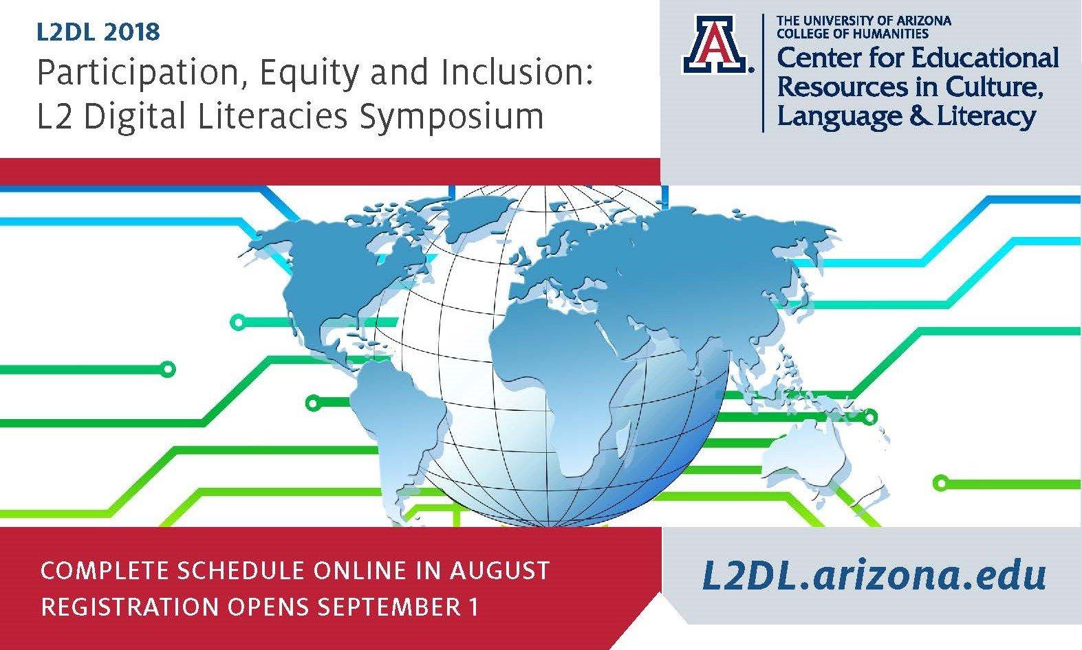 Participation, Equity and Inclusion: L2DL Digital Literacies (L2DL) Symposium